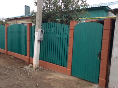 Тукаевский район: деревня Мусабай завод  модульный  деревянный штакетный забор