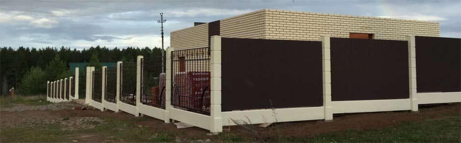 Город ижевск модульный забор
