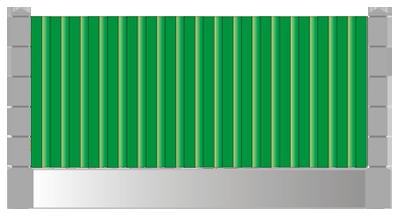 Забор из профнастила набережные челны