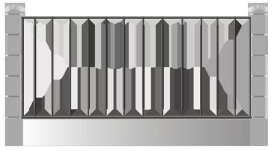 Металлический забор набережные челны