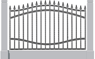Кованный забор набережные челны